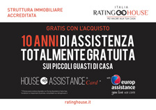Rating House - 10 anni di assistenza totalmente gratuita